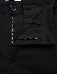 Lindbergh - Superflex knitted cropped pant - puvunhousut - black - 4