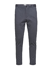 Superflex knitted cropped pant - BLUE MIX