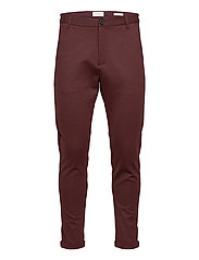 Superflex knitted cropped pant - BORDEAUX MIX