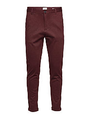 Superflex knitted cropped pant - RED MIX