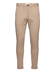 Superflex knitted cropped pant - SAND MIX