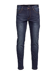 Tapered fit jeans slight wash - SLIGHT WASH