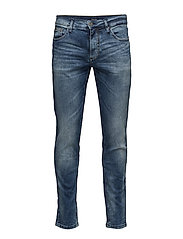Tapered fit jeans - ripe blue - RIPE BLUE