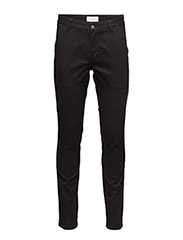 Classic chino with stretch - BLACK