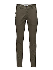 Classic chino with stretch - ARMY