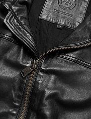 Lindbergh - Leather jacket - lederjacken - black - 3