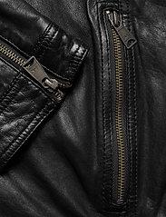 Lindbergh - Leather jacket - lederjacken - black - 4
