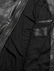 Lindbergh - Leather jacket - lederjacken - black - 5