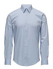 Men's Stretch Shirt L/S - LT BLUE