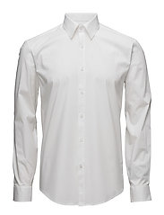 Men's Stretch Shirt L/S - WHITE