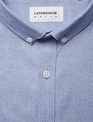Lindbergh - Mouliné stretch shirt L/S - peruspaitoja - lt blue - 3