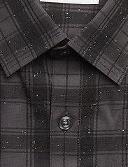 Checked slub shirt L/S