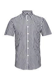 Striped shirt S/S - DARK BLUE