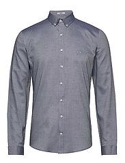 Oxford shirt L/S - MID BLUE
