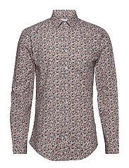 Printed shirt L/S - RED
