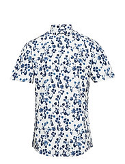 Printed shirt S/S - DARK BLUE