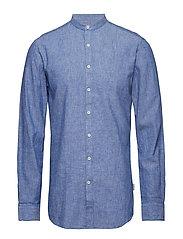 Linen shirt L/S - BLUE