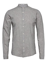 Linen shirt L/S - GREY