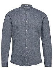 Linen shirt L/S - NAVY