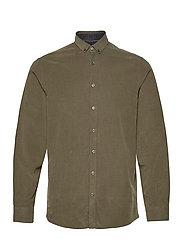 L/S corduroy shirt - ARMY