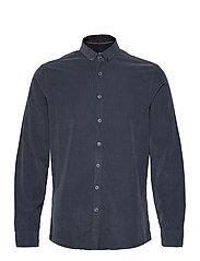L/S corduroy shirt - NAVY