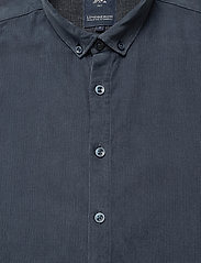 Lindbergh - L/S corduroy shirt - peruspaitoja - navy - 3
