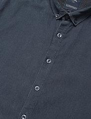 Lindbergh - L/S corduroy shirt - peruspaitoja - navy - 4