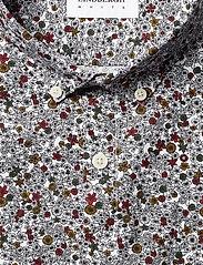 Lindbergh - Ditsy floral print shirt L/S - chemises décontractées - white - 3