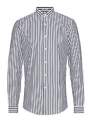 Striped shirt L/S - DK BLUE