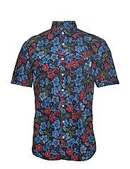 Holiday printed S/S shirt - DARK BLUE