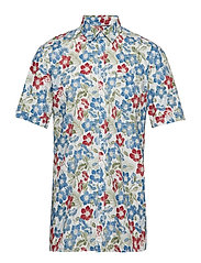 Holiday printed S/S shirt - OFF WHITE