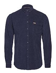 Corduroy L/S shirt - NAVY