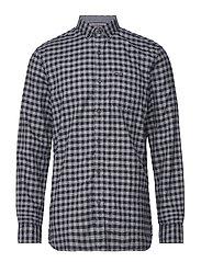Mélange gingham L/S shirt