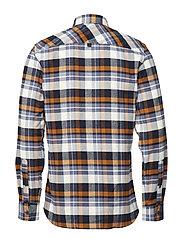 Brushed check L/S shirt