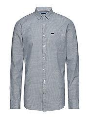 Pinstripe L/S shirt - LIGHT BLUE