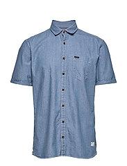 Indigo shirt S/S - INDIGO
