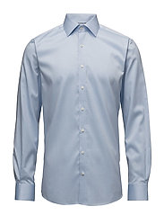 Plain fine twill shirt,WF - LT BLUE