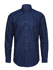 Small structure shirt L/S - DARK BLUE