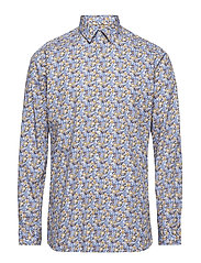 AOP shirt L/S - LIGHT BLUE