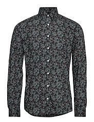 AOP shirt L/S - GREEN