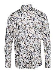 AOP shirt L/S - BLUE