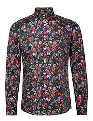 AOP shirt L/S - NAVY