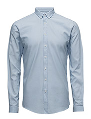 Oxford shirt L/S - LT BLUE