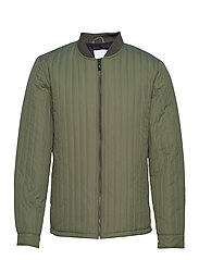 Quilted jacket - ARMY