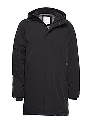 Down parka - BLACK
