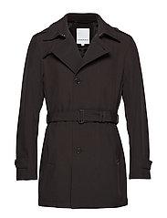 Trench coat - BLACK