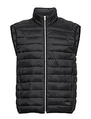 Light puffer gilet - BLACK
