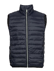 Light puffer gilet - NAVY