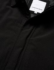 Lindbergh - Technical mac coat - kevyet päällystakit - black - 2
