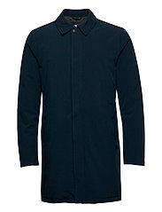 Technical mac coat - NAVY